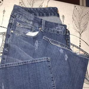 Seven7 Jeans - Seven jeans women sz 22 Bootcut BLING!!!